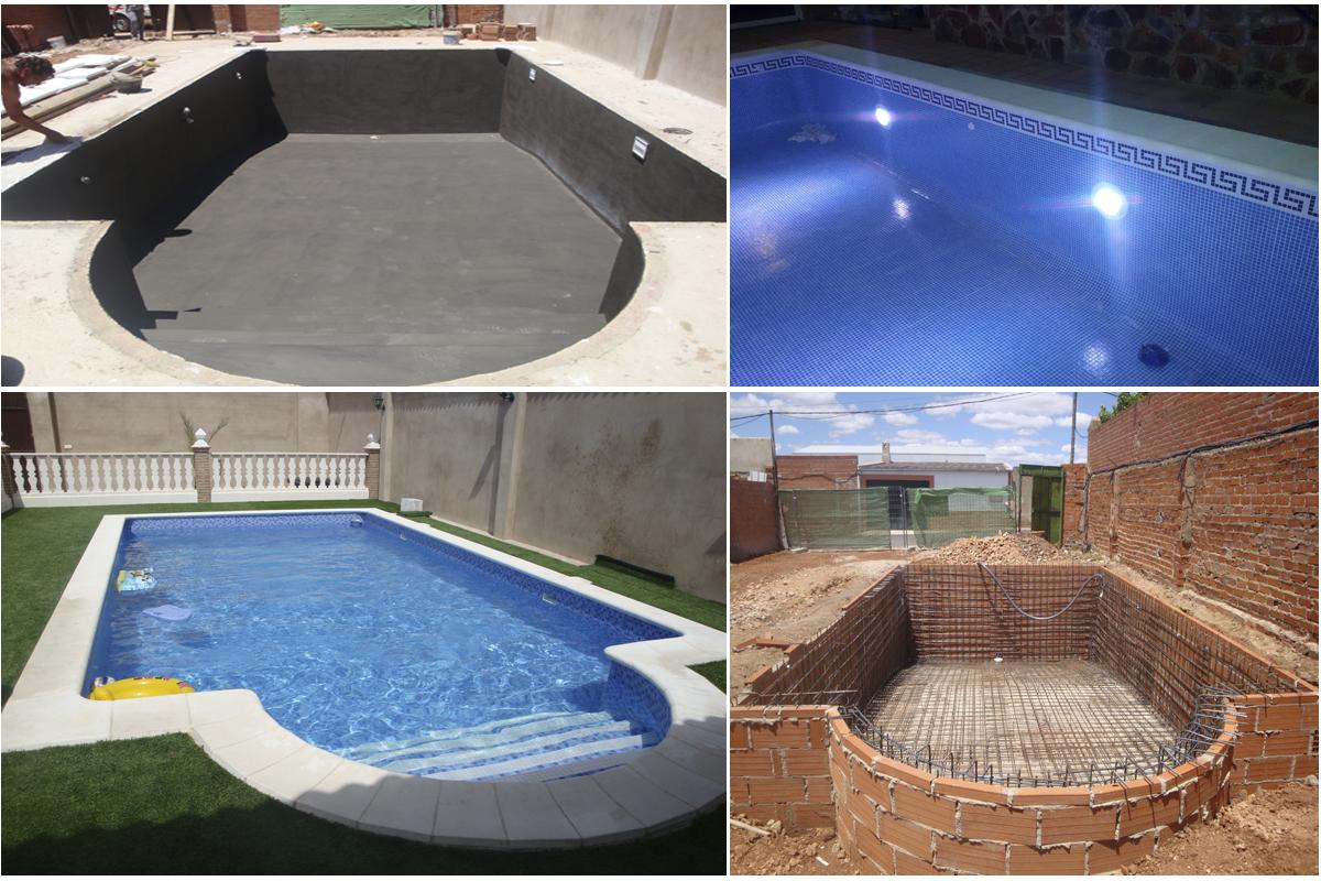 Damos cualquier forma a tu piscina